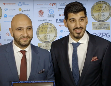 Anthony Pepe Best Small London Estate Agency 2016 - Anthony Pepe