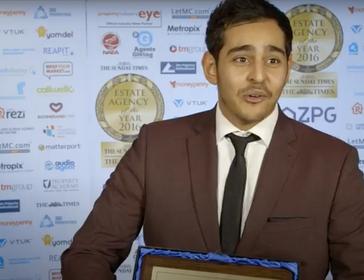 Anthony Pepe Best Valuer in the UK 2016 - Mina Gadelrab - Anthony Pepe