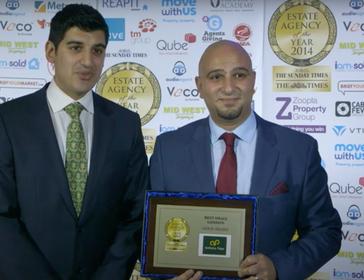 Estate Agency of the Year Awards 2014 - Anthony Pepe - Best Small London Estate Agency - Anthony Pepe