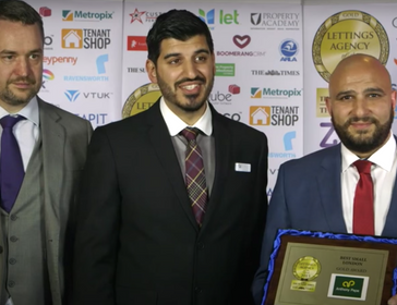 London small letting agency of the year 2015 - Anthony Pepe - Anthony Pepe